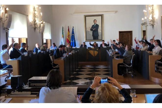 La Diputación aprueba unas cuentas que contemplan importantes inversiones para Coria y Moraleja