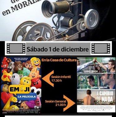 """Moraleja celebrará la cuarta sesión de """"Sábados de Cine"""" con la proyección de dos nuevas películas"""