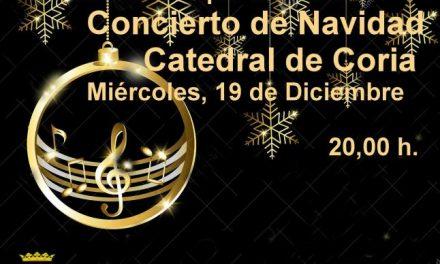 La Catedral de Coria acogerá el día 19 el concierto navideño de la Escuela Municipal de Música
