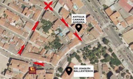 Ya está en vigor la nueva señalización de las calles Pelayo y Ronda del Molino de Moraleja