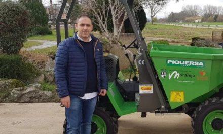 El Ayuntamiento de Moraleja adquiere una nueva DUMPER con una inversión de 15.000 euros