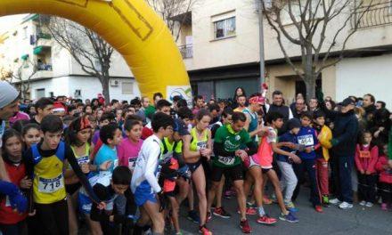 Más de 450 personas se dieron cita en la San Silvestre de Coria para despedir el año haciendo deporte