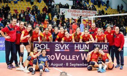La moralejana Alba Sánchez jugará con la Selección Española de Voleibol en el Campeonato de Europa