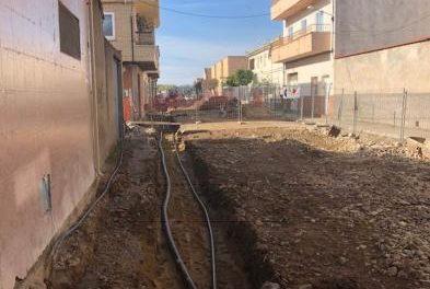Las obras de remodelación de la calle Cilleros de Moraleja obligan a cortar el agua el este lunes