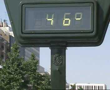 La Agencia Estatal de Meteorología prevé que Extremadura alcance los 40 grados el fin de semana
