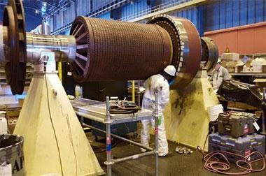 La dirección de Almaraz destaca el buen funcionamiento de la central en el último lustro