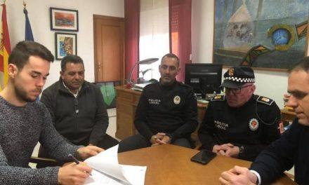 Mario Arturo Recio se incorpora como nuevo agente a la plantilla de Policía Local de Moraleja