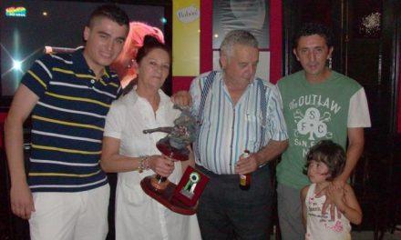 María Luisa Alcoba Lisero ha sido galardonada con el XII Trofeo Julio Campana por su labor como campanera