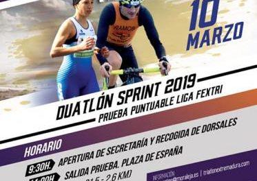 Moraleja está preparando todo para acoger el 10 de marzo el IV Duatlón puntuable para la Liga Fextri