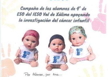 El IES Jálama se suma a la campaña solidaria contra el cáncer infantil promovida por el IESO Val de Xálima
