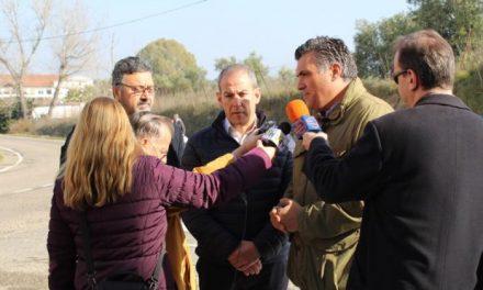 Ballestero y Aguilera piden a la Diputación de Cáceres que acometa las obras de las entradas a Coria