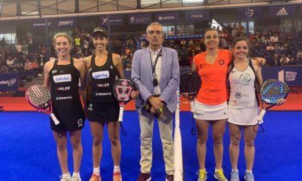 La moralejana Paula Josemaría cae en la semifinal del Masters de Pádel de Marbella