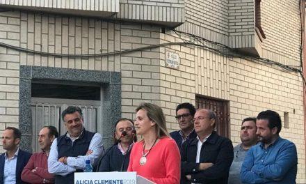 El Partido Popular arropa a Alicia Clemente en su candidatura a la alcaldía de Moraleja