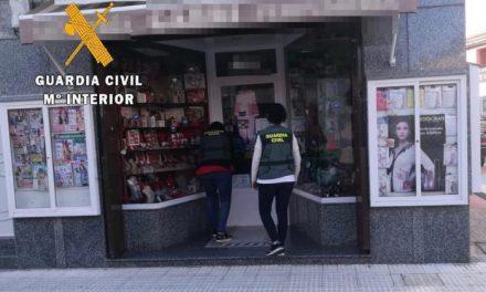 Detienen a los supuestos autores del robo registrado en un establecimiento comercial de Moraleja