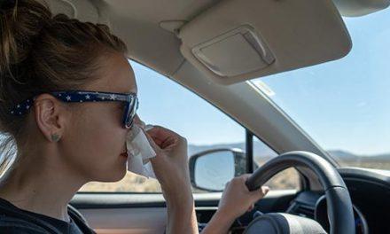 La Policía Local de Coria alerta del peligro de conducir bajo los efectos de las alergias