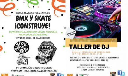 El Espacio Joven de Moraleja apuesta por un taller de DJ y otro de BMX los días 12 y 13 de abril