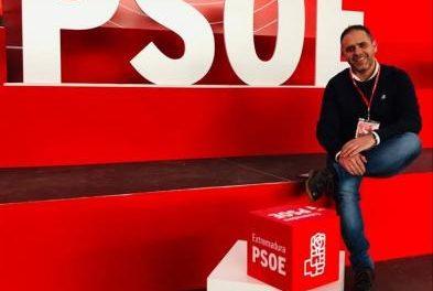 """César Herrero comienza la campaña electoral como candidato del PSOE con """"muchas ganas de trabajar"""""""