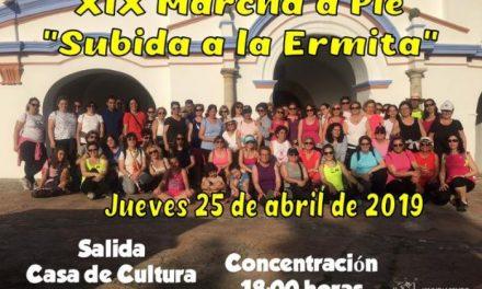 """La XIX edición de la Marcha a pie """"Subida a la Ermita"""" tendrá lugar este jueves en la ciudad de Coria"""