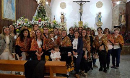 Un total de 22 mujeres participa en el homenaje a la Virgen de la Vega de Moraleja