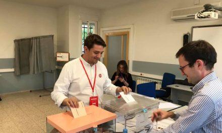 Héctor Lisero valora positivamente los resultados obtenidos por el PSOE en Coria durante las elecciones