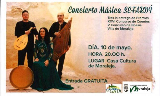 La Casa de Cultura acogerá un concierto de música Sefardí este viernes  las 20:00 horas
