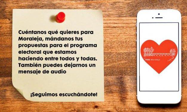 El PSOE de Moraleja valora positivamente la acogida de la iniciativa del teléfono para propuestas de los ciudadanos
