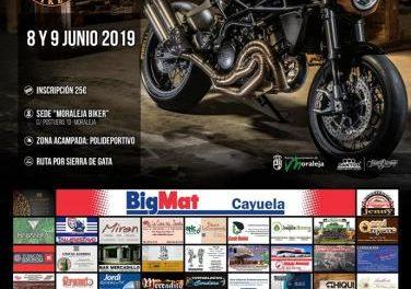 El III Moraleja Biker reunirá el próximo mes de junio en la localidad a moteros de diferentes puntos del país