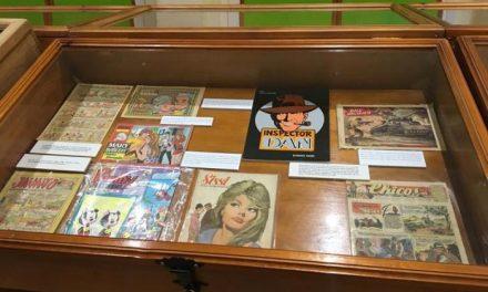 """Alrededor de 70 cómics conforman la exposición """"Un mundo de historias en viñetas"""" de Moraleja"""
