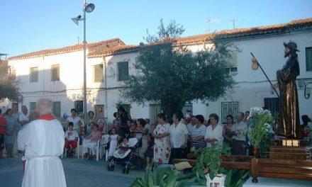 Los vecinos del barrio de Santiago de Coria reducen el programa de los actos para celebrar las fiestas del patrón