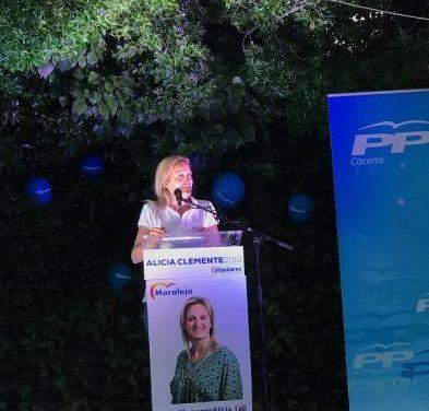 """La candidata a la alcaldía de Moraleja por el PP señala que """"el empleo es una prioridad absoluta"""""""