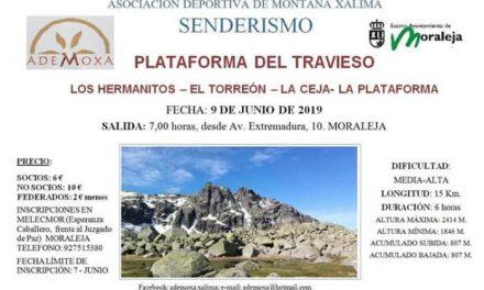 La Asociación Deportiva Ademoxa organiza una ruta senderista por la Plataforma del Travieso en Béjar