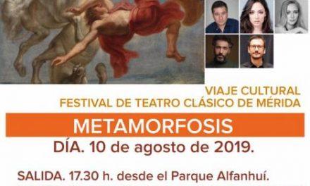 """Moraleja organiza un viaje al Festival de Teatro Clásico de Mérida para ver la obra """"Metamorfosis"""""""
