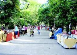 El Parque de la Paz de Zafra acoge Merkajoven que tiene como objetivo fomentar el ocio y la creatividad