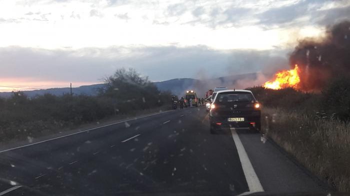 Muere un motorista de Torrejoncillo en Moraleja al impactar su moto contra un vehículo junto al polígono
