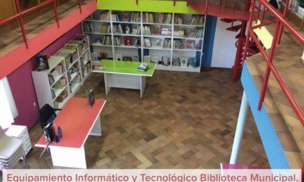 La Junta de Extremadura destina más de 4.000 euros a equipamiento informático para la biblioteca de Moraleja