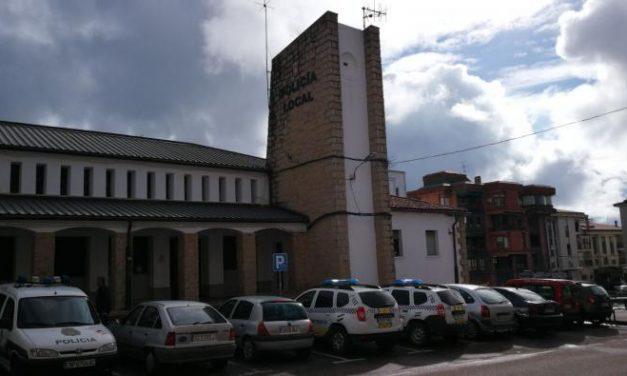 La Policía Local de Coria inicia una campaña preventiva de control de velocidad por primera vez