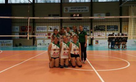 El femenino del AD Villa de Moraleja CB de voleibol jugará el Campeonato de España este fin de semana