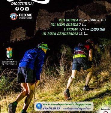 Últimos días para inscribirse en la nueva edición de la XII Subida al Castillo de Portezuelo