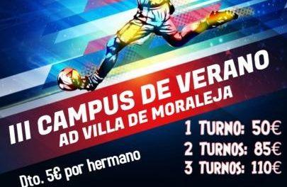 La AD Villa de Moraleja organiza una nueva edición del campus de verano para disfrutar del deporte