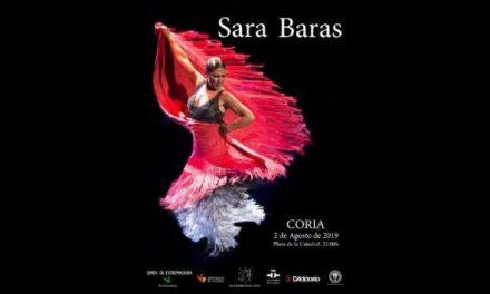 Sara Baras inaugurará el 2 de agosto el XXIII Festival Internacional de Guitarra de Coria