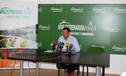 Asaja propone medidas fiscales, legislativas y de financiación para paliar los efectos de la sequía