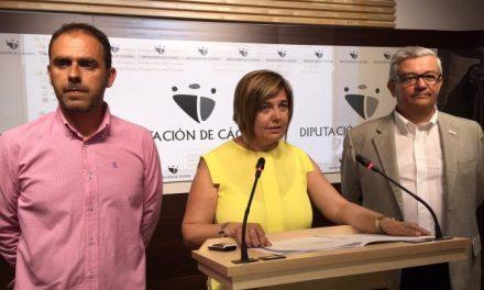 Moraleja e Idanha-a-Nova presentan la XXIII edición de la Feria Rayana en la Diputación de Cáceres