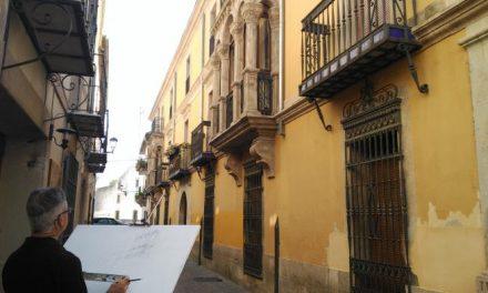 """Coria acoge el VII Certamen Internacional de Dibujo y Pintura al aire libre  """"Bufón Calabacillas"""""""