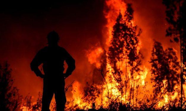 Los graves incendios de Portugal no afectan a la zona transfronteriza, que garantiza la seguridad de la población