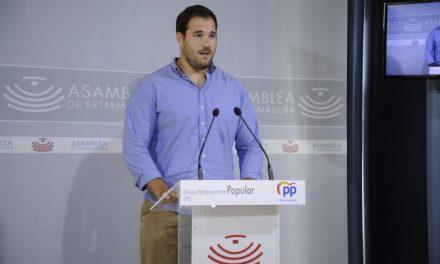 El PP atribuye la bajada del paro a la campaña agrícola y al sector servicios y pide empleo sólido a Vara