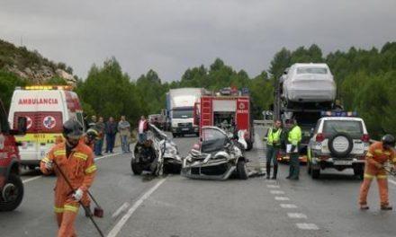 Las carreteras extremeñas registran tres accidentes de tráfico durante el fin de semana