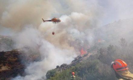 La Junta dispondrá de 9 helicópteros contra incendios forestales por más de siete millones de euros
