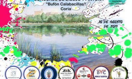 """El sábado se celebra el VII Certamen Internacional de Dibujo y Pintura al aire libre """"Bufón Calabacillas"""" de Coria"""