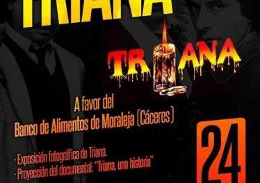 Un homenaje a Triana recaudará productos para el Banco de Alimentos de Moraleja