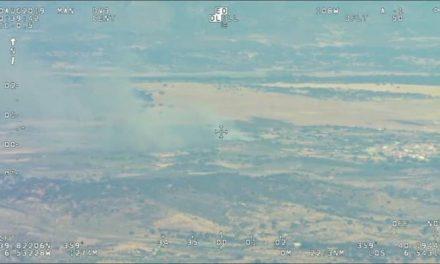 El Infoex declara el nivel 1 de peligrosidad en un incendio en Calzadilla por la cercanía a edificaciones aisladas